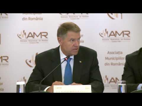 Discursul presedintelui Klaus Iohannis la reuniunea AMR din 12 noiembrie 2018