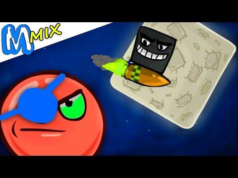 Мультик игра для детей - Красный Шар Битва Red Ball 4 от Спуди !
