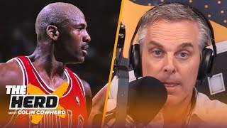 Colin reacts to Ep. 1 & 2 of 'The Last Dance': I found Jordan 'incredibly likable' | NBA | THE HERD