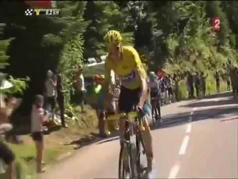 Compilation des attaques de Froome sur le Tour de France !