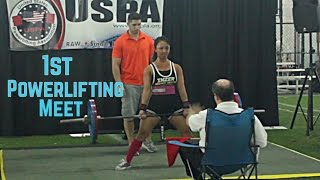 Meet Day: 1st Powerlifting Meet|USPA