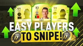 30K AN HOUR *INSANE* PROFIT SNIPING FILTERS FOR MARQUEE MATCHUPS (FIFA 17 TRADING METHOD)
