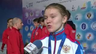Дарья Дрозд - бронзовый призер первенства Европы