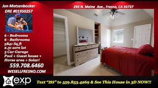 A home that fits your lifestyle 4 Bedroom/4 bathroom house for sale in Fresno CA