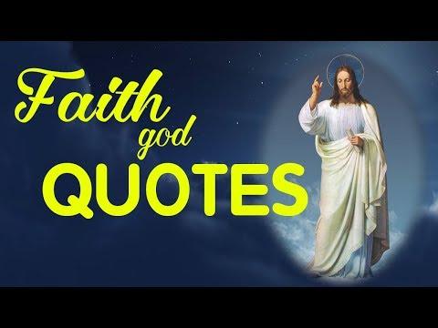 Faith God Quotes