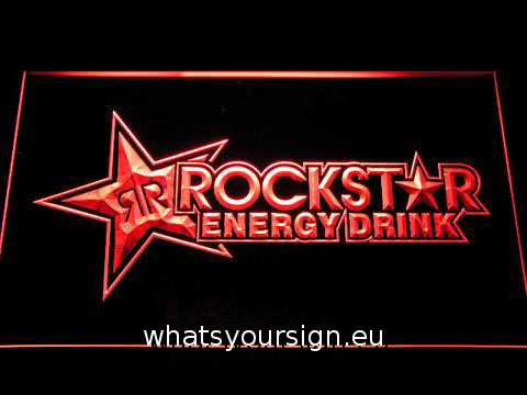 Rockstar Energy Drink LED Neon Sign