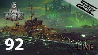 World Of Warships - 92.Rész (Elő halloween és láda nyitás!) - Stark LIVE