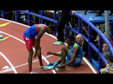 Champ Boys 200m Final Heat 2 Noah Lyles US#2 ALL TIME   2015 NBNI