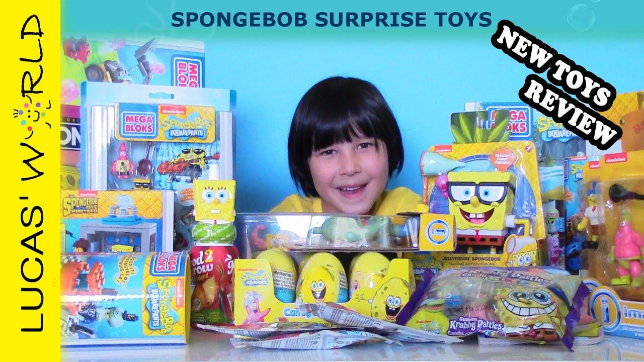 Spongebob Squarepants Sponge Out Of Water Movie All New