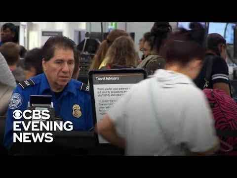 TSA leaders worry about 'tipping point' for workers amid shutdown