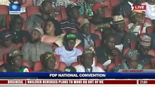PDP Nat ' L Convention: Wir kehren wieder Zu Stabilisieren & Eine Neue Erstellen Nigeria-- Secundus zu beleuchten Pt.2