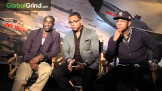 "Tristan Wilds, Ne-Yo & Elijah Kelley Talk ""Redtails"" With BlogXilla"
