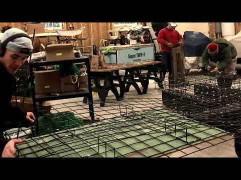 Mere Point Oyster Winter Harvest & Gear Production