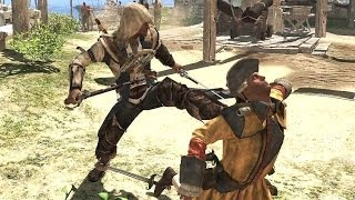 Assassin's Creed 4 Free Roam Finishing Moves & Counter Kills