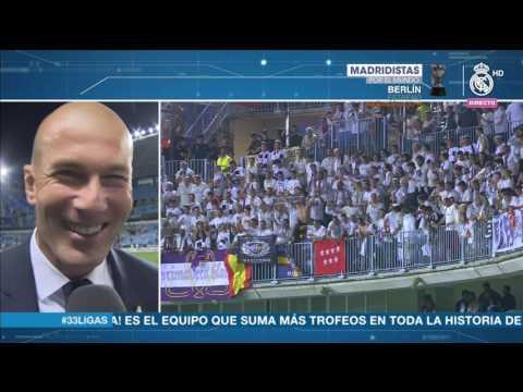 Declaraciones de Zidane Málaga 0-2 Real Madrid CAMPEON DE LIGA 2016/17