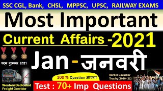 Current Affairs : January 2021   Important current affairs 2021    latest current affairs Quiz screenshot 4
