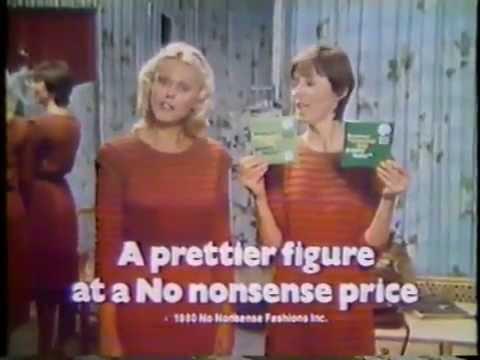 Susan Blanchard & Ilene Graff 1980 No Nonsense Pantyhose Commercial