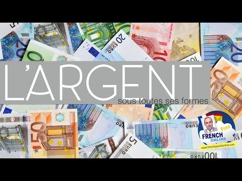 Learn French money