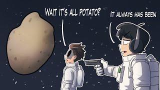 Minecraft potato mod blows Irish mens minds...