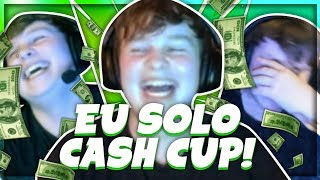 FRAGGING OUT IN THE EU SOLO CASH CUP (Fortnite Tournament Highlights)