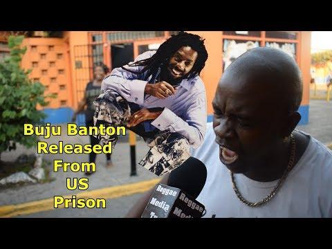 Jamaicans REACTION To Buju Banton Release Today !!!