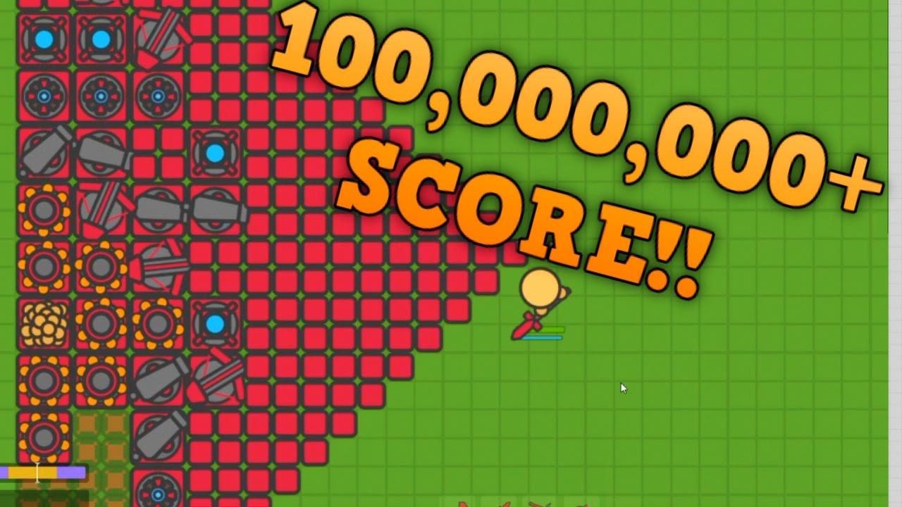 Zombsio Unbeatable Base Massive 100 Million High Score Tier 7 Update