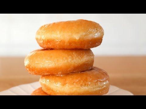 Donuts (donas) caseros auténticos- 2 tipos de glaseado