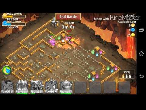 Castle Clash - Life Drain Crests!