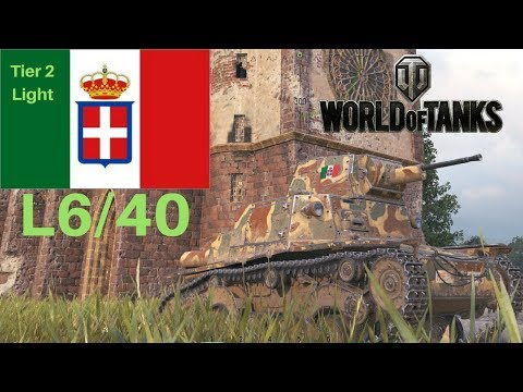 L6/40 tank review World of Tanks