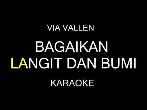 via-valen//bagaikan-langit-dan-bumi(karaoke+lirik)
