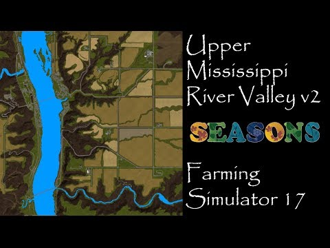 Upper Mississippi River Valley V2 BETA - Map exploration