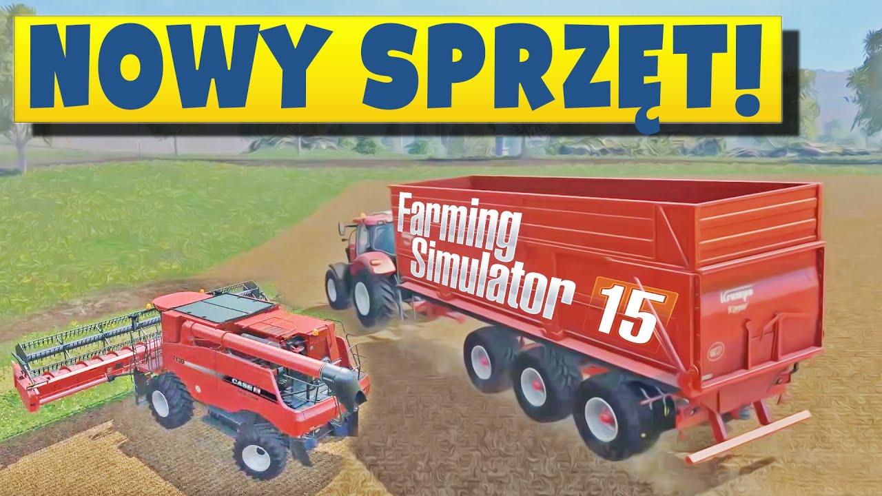 Wielki kombajn i wywrotka, teraz mogę działać szybciej! #13 | Farming Simulator 2015