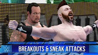 WWE 2K16 Tombstone Piledriver Breakouts & Sneak Attacks!