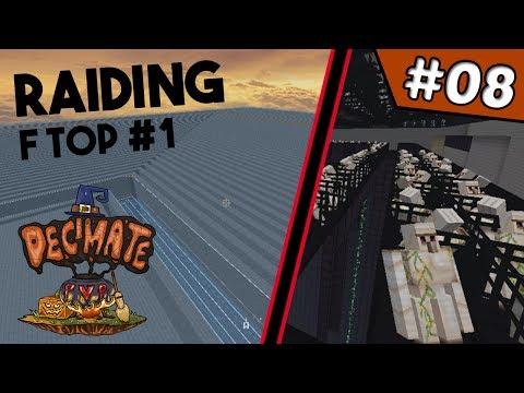 RICH $1.5 BILLION RAID TO WIN THE MAP!!!!! | DecimatePvP #8 (Minecraft Factions)