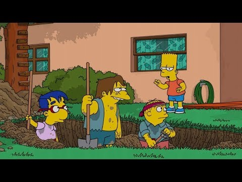 Bart directs the work! CTS Cartoon Tv Series