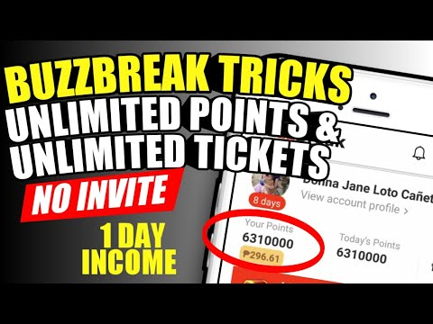 New Buzzbreak Farming Tricks 2020: No Invite, unlimited tickets & points (buzzbreak tricks 2020)