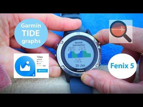 Tide Apps & Widgets for Garmin Fenix 5 (Garmin Connect IQ Tidal