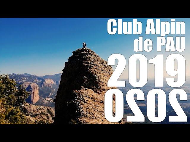Club Alpin Français de Pau - Rétrospective - 2019 2020