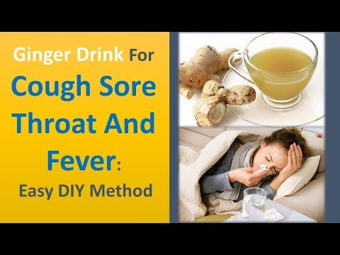 ginger-drink-for-cough-sore-throat-and-fever:-easy-diy-method