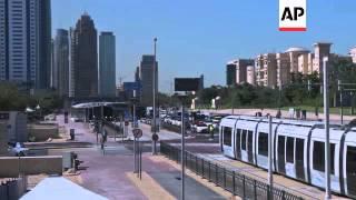 Dubai's new tram system opens for business