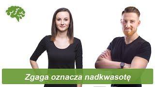 Zgaga oznacza nadkwasotę | Obalamy mity dietetyczne