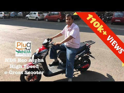 NDS Eco Alfa : High Speed e-Cross Scooter - Preview