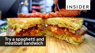 The Spaghetti & Meatballwich