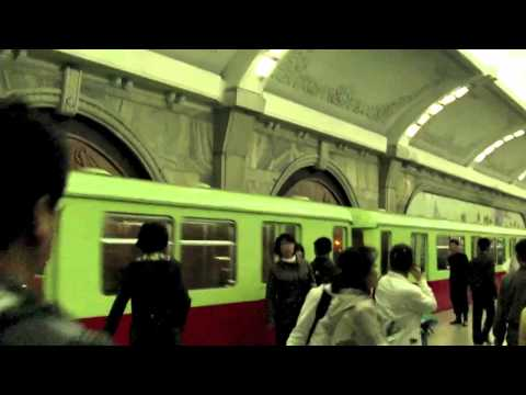 Pyongyang metro (april 2012)