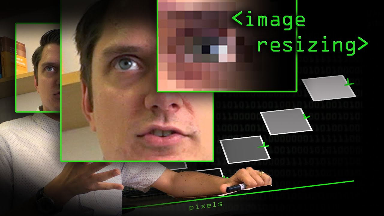 Resizing Images - Computerphile