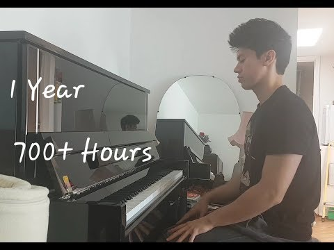 Adult Beginner Piano Progress – 1 Year of Practice