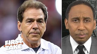 Stephen A reacts to Alabamas No 5 ranking says the Tide wont make the CFP  First Take