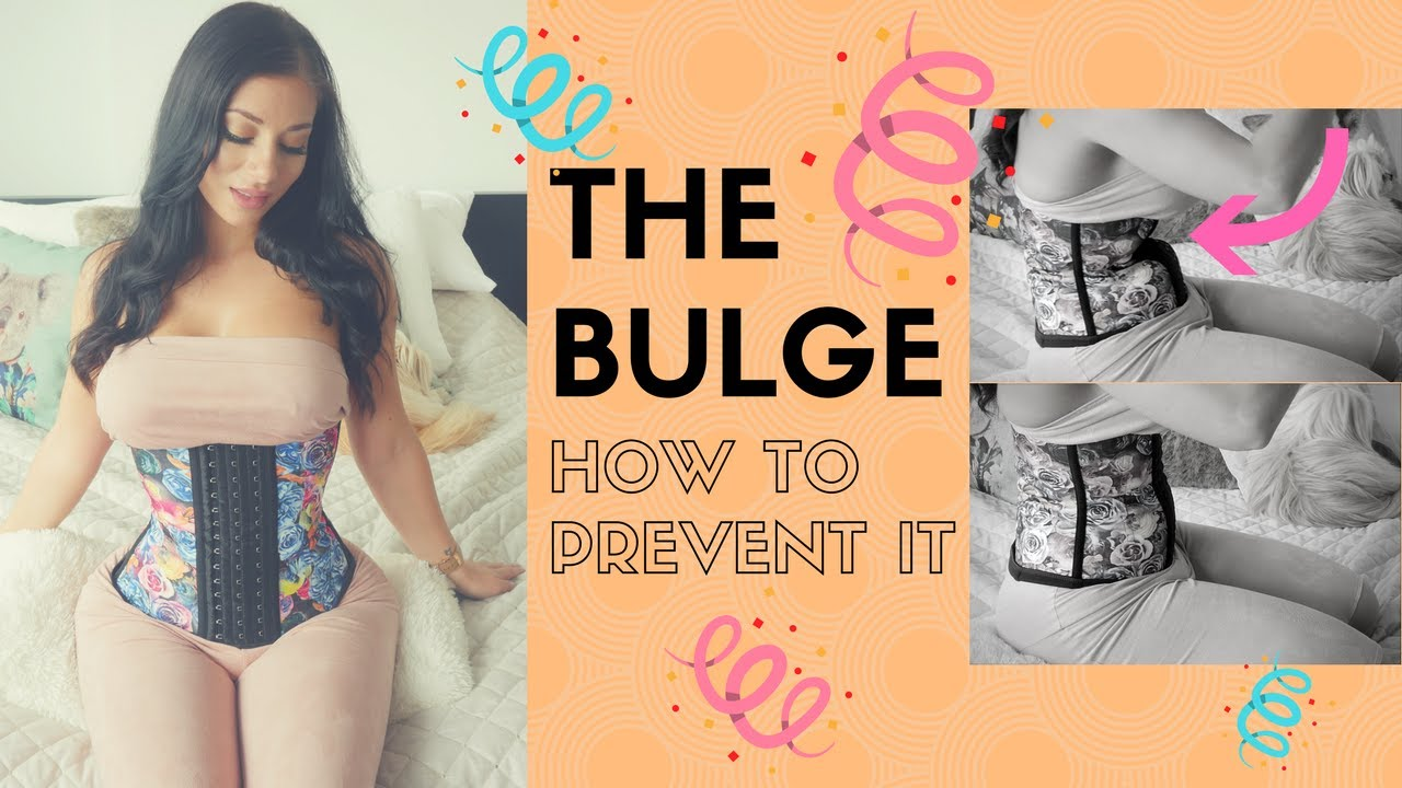 87f7b76af2 Let s Talk About THE BULGE - Waist Training 101 - YouTube