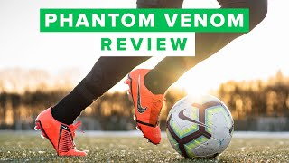 NIKE PHANTOM VENOM REVIEW | the perfect striker boot?