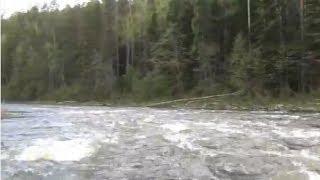 Сплав по реке - Охота рыбалка опасный спуск по порогам горной реки Рудиковка +Экстаежник(Рафтинг достаточно опасное увлечение, особенно, когда речь идёт о маршрутах 3-ей и выше категории трудности...., 2014-06-16T04:20:25.000Z)